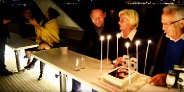 Şebnem Yat Kiralama Teknede Yıldönümü Kutlamaları