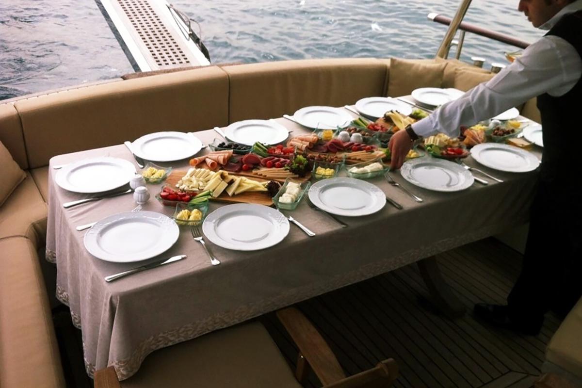 Teknede Kahvaltı